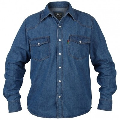 Foto van DUKE WESTERN denim blouse