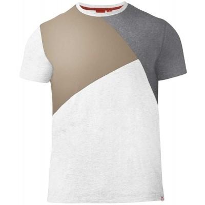 D555 AUTHENTIC KS shirt panelen Oatmeal Marl