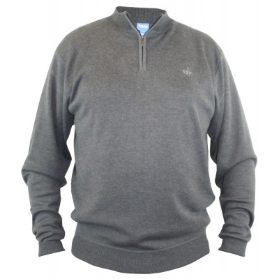 D555 PACIFIC KS dunne Sweat dark grey