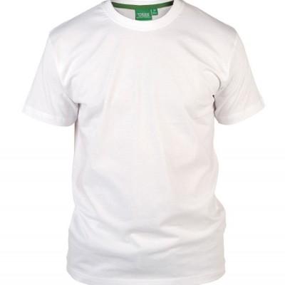 Foto van D555 FLYERS KS uni T-shirt Wit