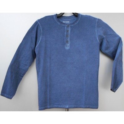 Foto van Blue Seven TEXO 7017 Shirt l.m. in blue