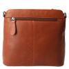Afbeelding van Schoudertas Leather Design HB 108 Cognac