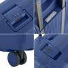 Afbeelding van Koffer CarryOn Protector 4 Wiel 66 CM Blue
