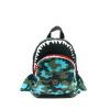 Afbeelding van Kinderrugtas Pick & Pack Shark Shape S Camo Light Blue