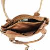 Afbeelding van Handtas/Schoudertas Bear Design 'Katya' CP 6006 Cognac