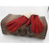 Afbeelding van Leren Dameshandschoenen Glove Story Bordeauxrood met polyester voering