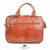 Afbeelding van Laptoptas Bear Design Teun CL 41022 Cognac