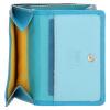 Afbeelding van Happy Wallet Rainbow Portemonnee 18363 Blauw