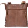 Afbeelding van Heren Schoudertas Leather Design AL 53 Bruin