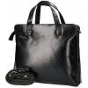 Afbeelding van Hand/Schoudertas Leather Design CC 1521 A Zwart