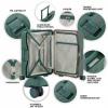 Afbeelding van Koffer CarryOn Protector 4 Wiel 66 CM Green