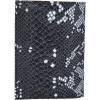 Afbeelding van Paspoort Etui Cowboysbag AgateXBobbie Bodt 3056 Snake Black and White