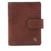 Afbeelding van Giftbox Castelijn & Beerens mini wallet 80 0856 Cognac