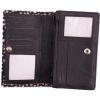 Afbeelding van Portemonnee Bear Design HH 10369 BLACK HAIR/WHITE DOT