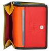 Afbeelding van Happy Wallet Rainbow Portemonnee 18363 Zwart