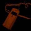 Afbeelding van Telefoontasje Bear Design Zoey CP 6035 Cognac