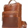 Afbeelding van Leren rugtas Leather Design DO 20-1882 Tobacco