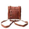 Afbeelding van Hand/Rugtas Leather Design HB 660 Cognac