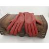 Afbeelding van Leren Dameshandschoenen Glove Story Rood met wollen voering