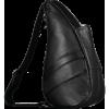 Afbeelding van Healthy Back Bag S Leather Black