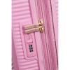 Afbeelding van American Tourister Spinner 67 Soundbox Pearl Pink/Gold