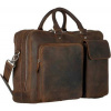 Afbeelding van Leonhard Heyden Salisbury Zipped Business Bag brown