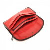Afbeelding van Berba Leren damesportemonnee Soft 001-164 Rood/Zwart
