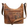 Afbeelding van Schoudertas Leather Design Bruin hunter
