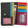 Afbeelding van Portemonnee Happy Wallet in giftbox 18360 Zwart