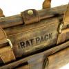 Afbeelding van Laptoptas The Rat Pack Jeff met dokterssluiting Bruin