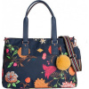 Afbeelding van Oilily Carry All schoudertas M navy night