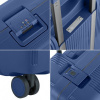 Afbeelding van Koffer CarryOn Protector 4 Wiel 77 CM Blue