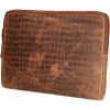Afbeelding van Laptopsleeve Old West San Angelo 17376 17 Inch Bruin