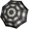 Afbeelding van Knirps Paraplu T.703 Stick Automatic Zwart/Wit geblokt