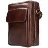 Afbeelding van Heren Schoudertas Leather Design CC 1338 Bruin
