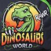 Afbeelding van Rugzak Fabrizio Dinosaurus 20580 Grijs
