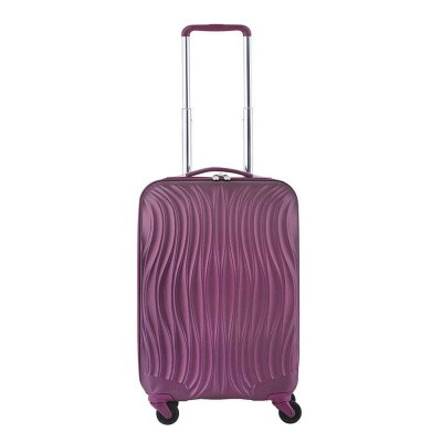 CarryOn Trolley 55cm Wave Aubergine