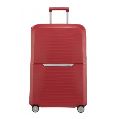 Foto van Koffer Samsonite Magnum Spinner 75/28 Rust Red