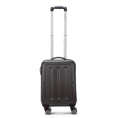 Koffer Decent Neon-Fix Trolley 55 antraciet