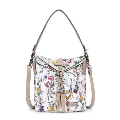 Tamaris Adelia Hobo Bag s White