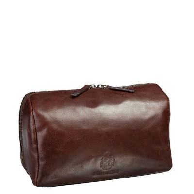 Toilet tas Leonhard Heyden Cambridge Brown