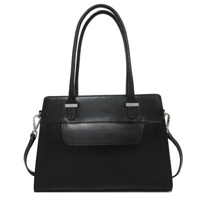 Claudio Ferrici Classico 18006 Shoulder Bag Zwart
