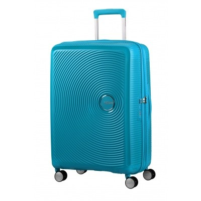 Foto van American tourister Soundbox SPINNER 67/24 Summer Blue