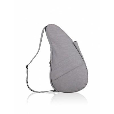 Healthy back bag textured nylon pebble grey M