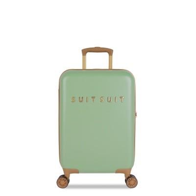 Foto van Koffer SuitSuit Fab Seventies 55 cm Handbagagekoffer Basil Green