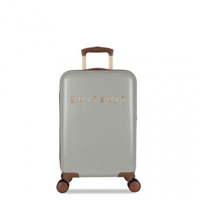 Foto van Koffer SuitSuit Fab Seventies 55 cm Handbagagekoffer Limestone