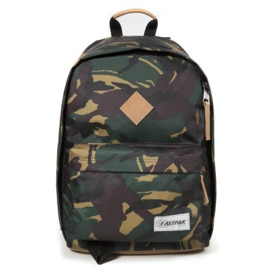 Eastpak OUT OF OFFICE Rugtas into camo Leer