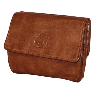Portemonnee Bear Design Cow Lavato wallet 14618 cognac