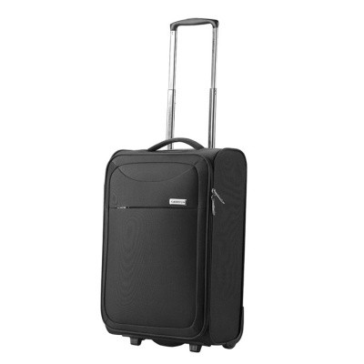 Foto van CarryOn Trolley 55cm Ultra light 2wheels AIR Black