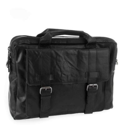 Foto van Laptoptas Spikes & Sparrow Bronco Business Bag Black